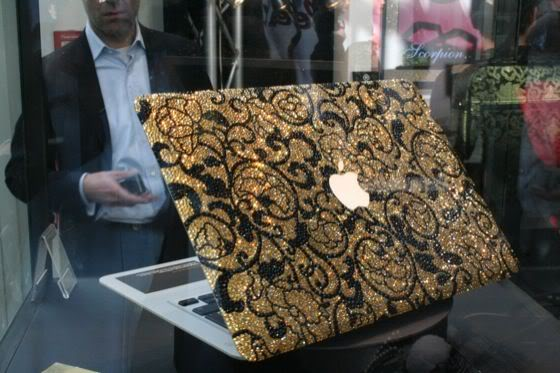 Most Expensive Laptops - The MacBook Air of Bling My Thing's Golden Age