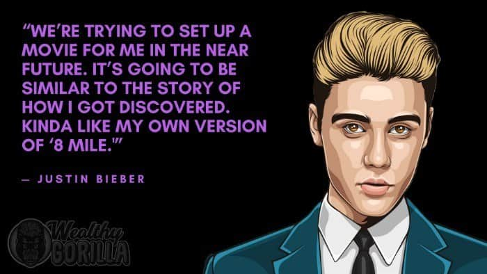 Best quotes from Justin Bieber 5
