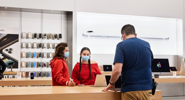 After reopening, Apple is closing stores in four states as COVID-19 numbers climb – TechCrunch
