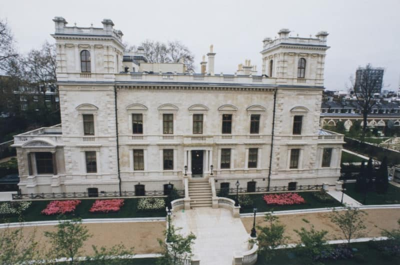 The Most Expensive Homes - 18-19 Kensington Gardens