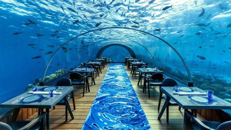 Restaurants les plus chers - Ithaa Undersea - Maldives