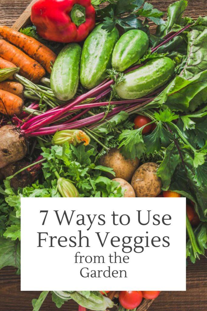 Uses For Fresh Vegetables