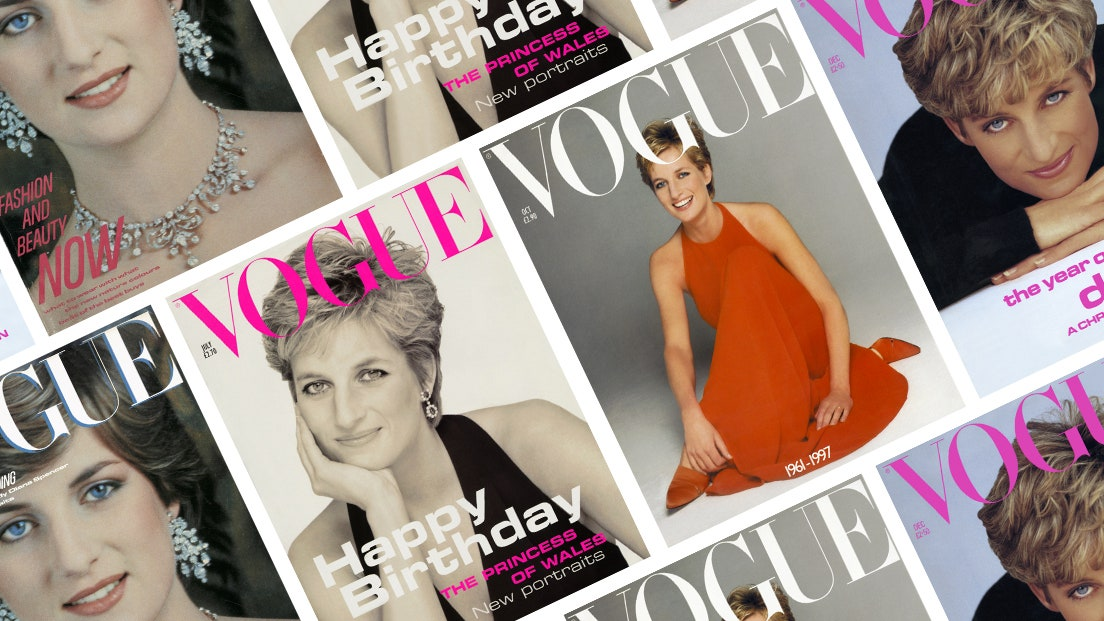 Princess Diana protagonist of four covers