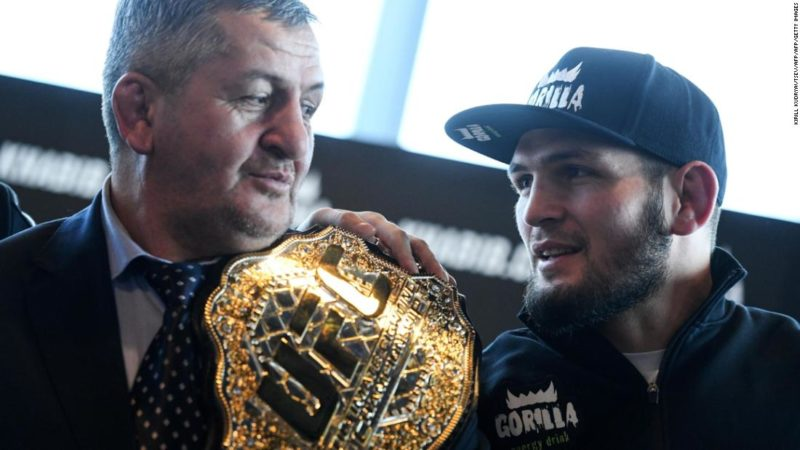 Khabib Nurmagomedov's father Abdulmanap dies 'from Covid-19 complications'