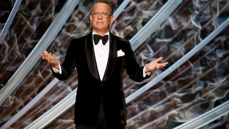 Tom Hanks to the Americans: put the mask on!