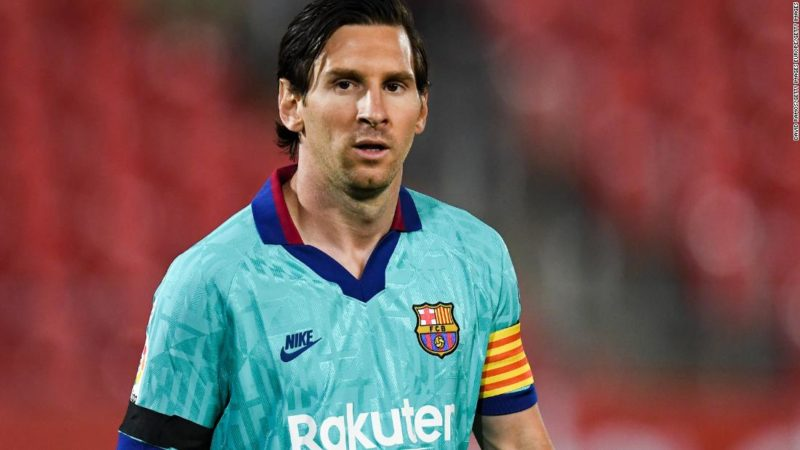 Lionel Messi will finish his career at Barcelona, says Bartomeu