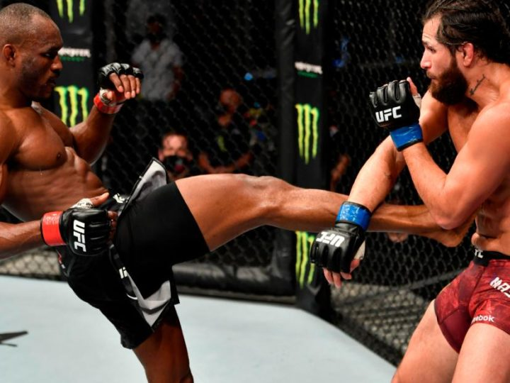 UFC 251: Usman eases past Masvidal on 'Fight Island' debut