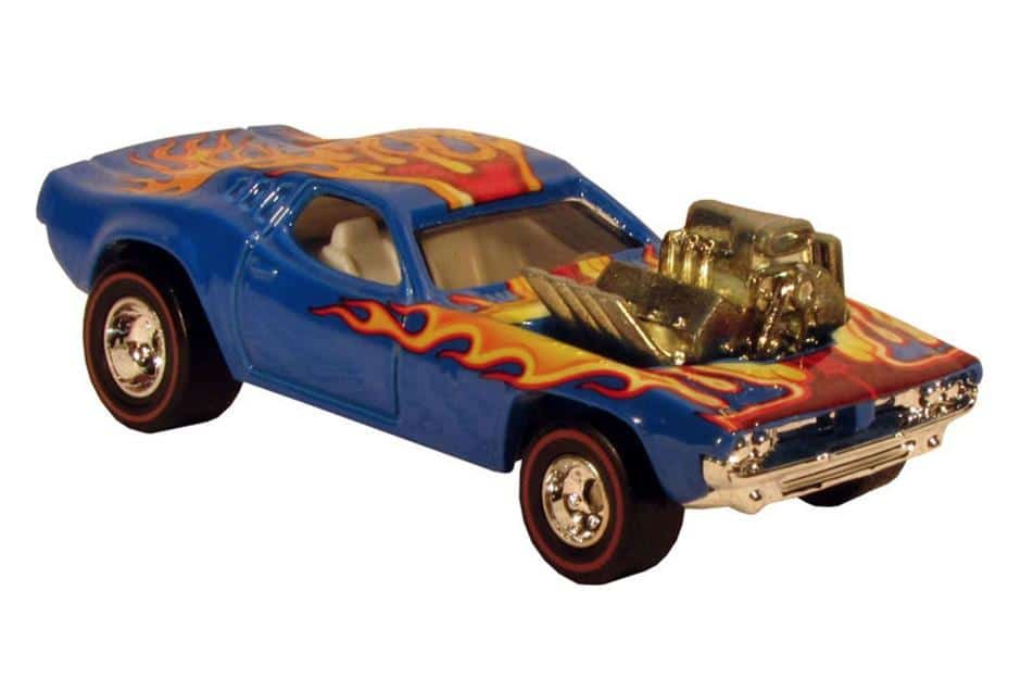 Most Expensive Hot Wheels - 1974 Blue Rodger Dodger