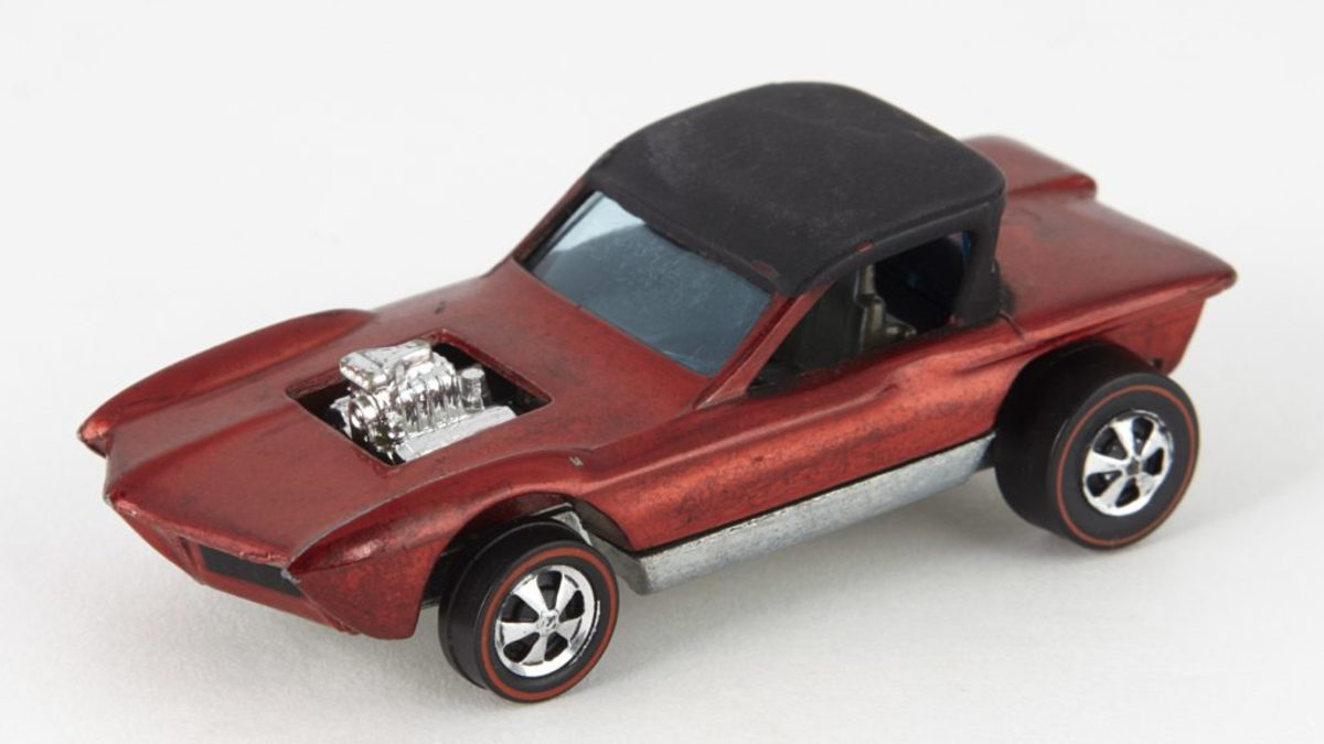 The most expensive hot wheels - Python 1968 with cheetah base