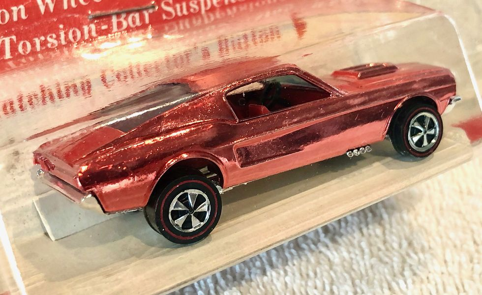 Most Expensive Hot Wheels - 1968 on Chrome Mustang