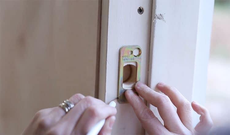 DIY Dutch Door Tutorial with Beat Smart Lock