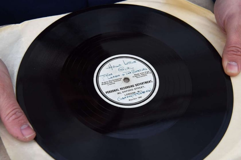 Most Expensive Vinyl Records - The Beatles - 'Till There Was You' (10 Acetate)