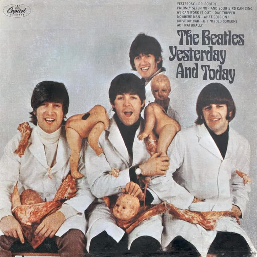 Most Expensive Vinyl Records - The Beatles - Yesterday and Today