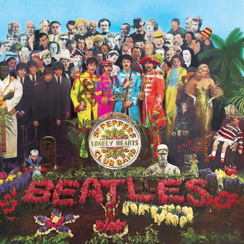 Most Expensive Vinyl Records - The Beatles- Sgt.  Pepper's Lonely Hearts Club Band (signed)