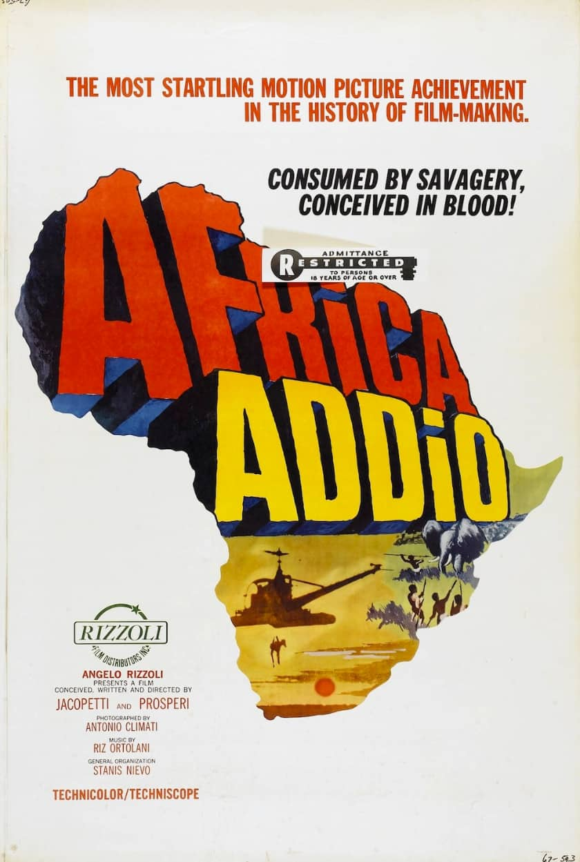 The most expensive VHS tapes - Addio Africa