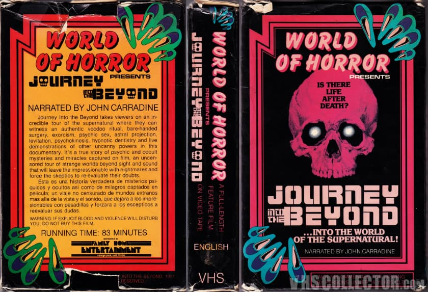 The Most Expensive VHS Tapes - Journey Into The Beyond