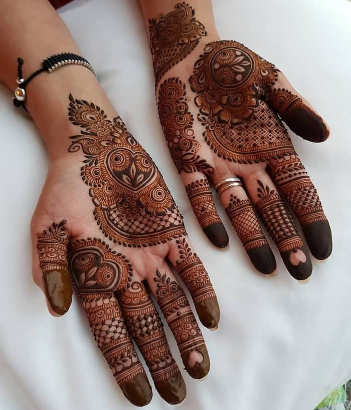Short hand design of mehandi