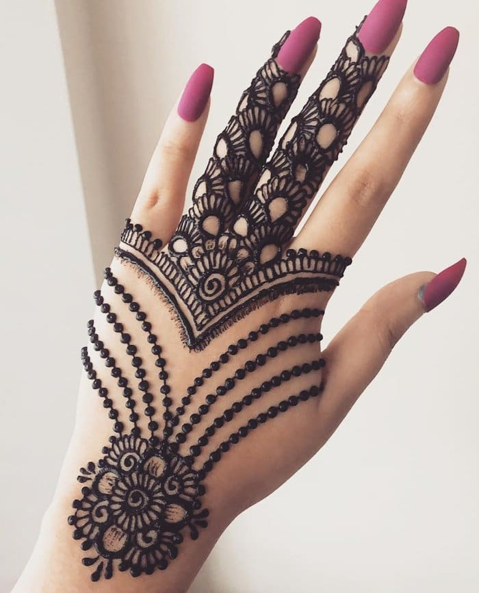 Latest design of mehandi 2020