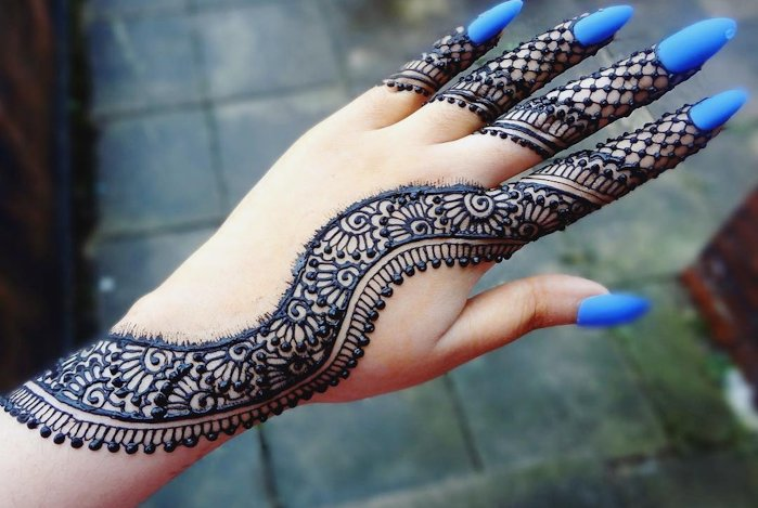 arabic mehndi tatto design