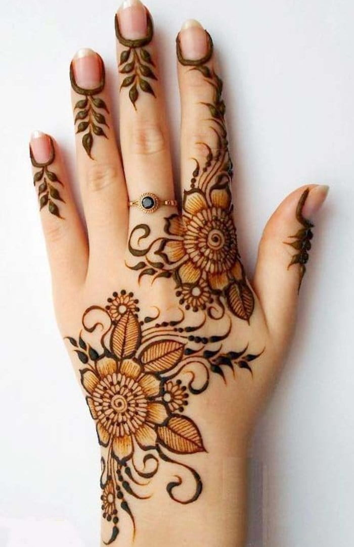 Arabic mehndi designs 2020 photo