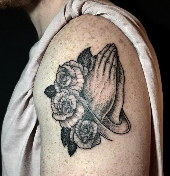 Praying Memorial Tattoos