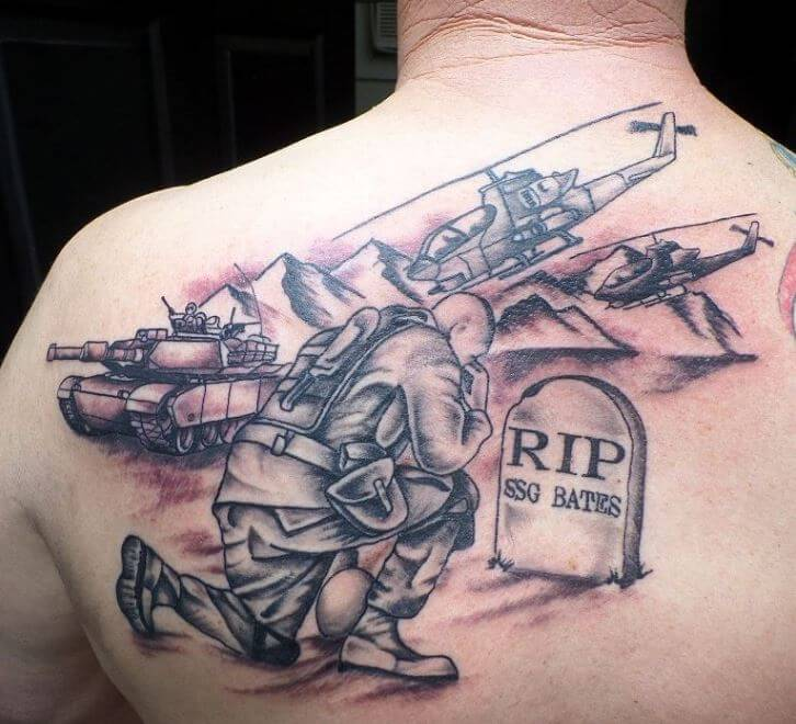 Army Memorial Tattoos
