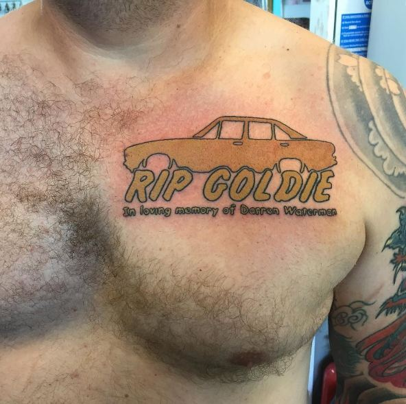Memorial Tattoos On Chest