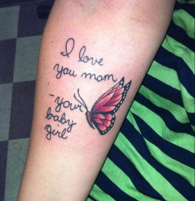Memorial Tattoos For Daughter
