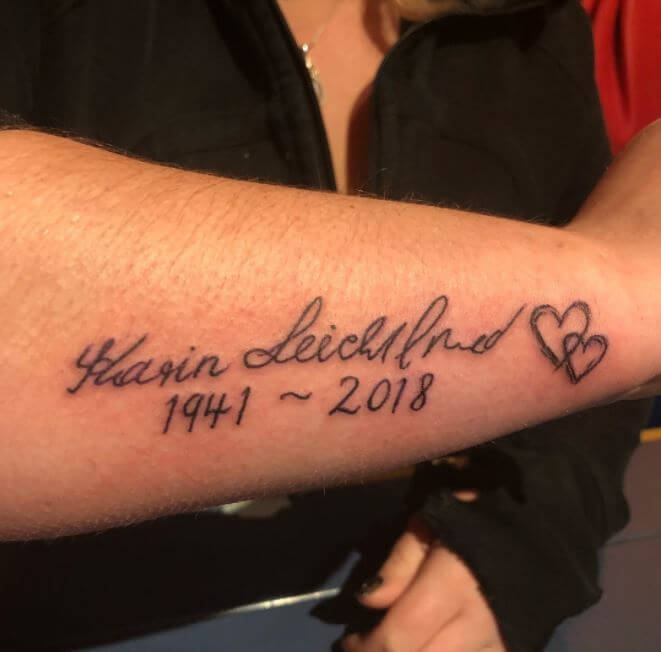 Grandma Memorial Tattoos