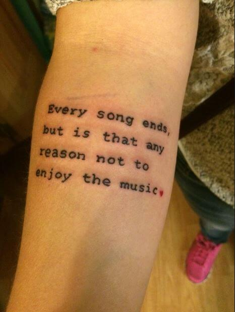 Motivational Quotes Tattoos For Men
