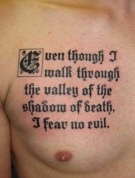 Best Quote Tattoos Design And Ideas For Men