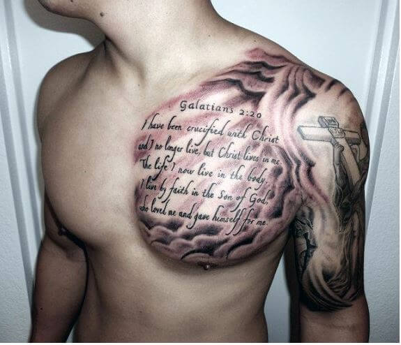 Quotes Tattoos Ideas Boys For Chest