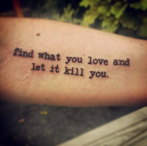 Quotes Tattoos Ideas For Boys