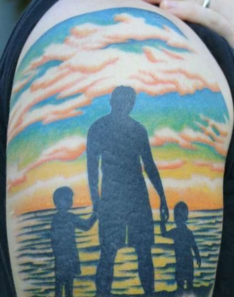 Awesome Father-Son Tattoos