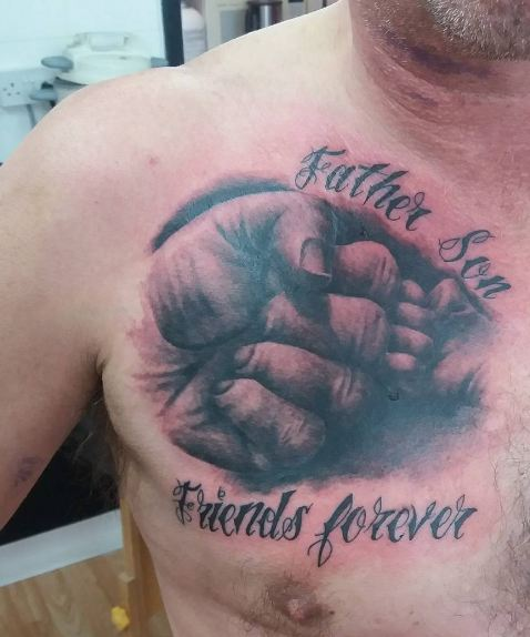 Friend Forever Father Son Tattoos