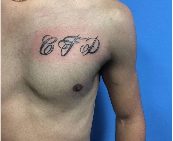 Latest One Word Tattoos Design For Men