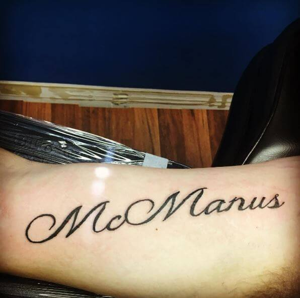 Best One Word Tattoos Design And Ideas