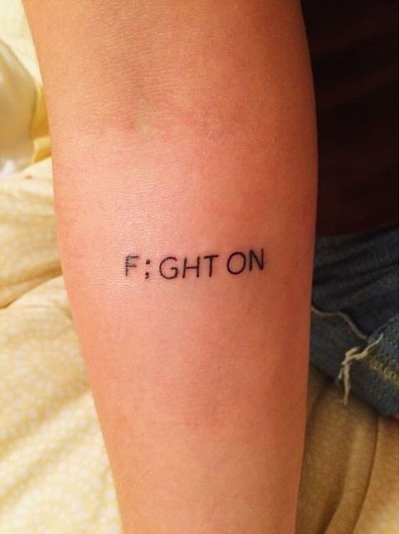 One Word Inspirational Quotes For Tattoos
