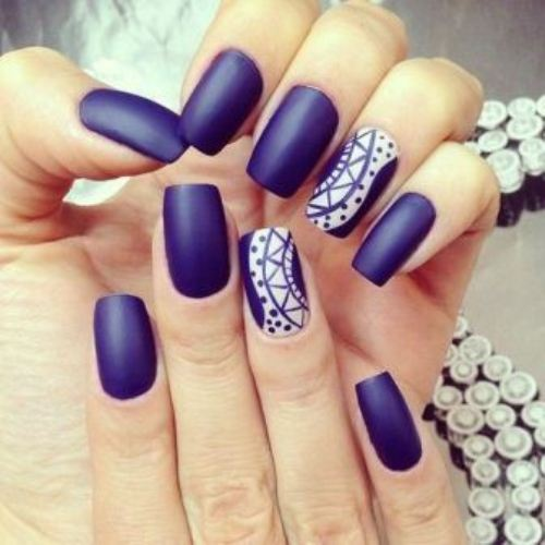 one nail with art