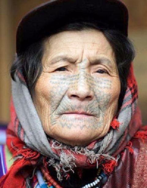 Tribal Chinese Tattoo