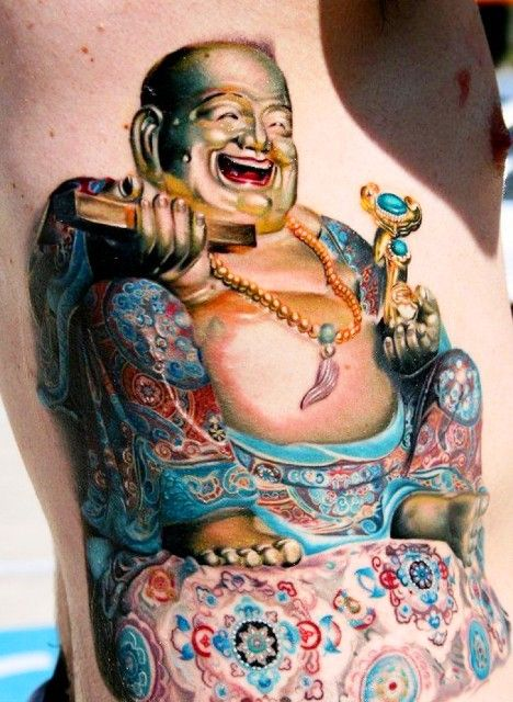 Chinese Buddha Tattoov