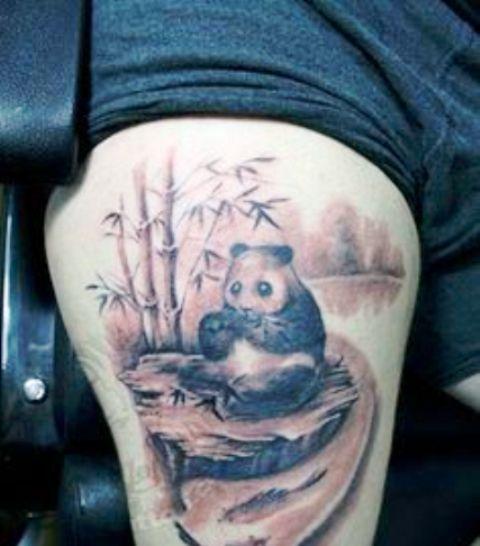 A Panda Tattoo
