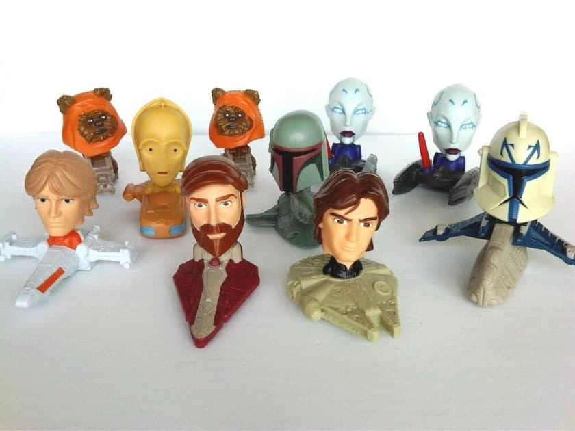 The most expensive Happy Meal toys - Clone Wars Happy Meal Box (2008)