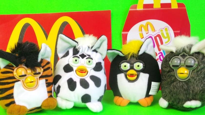 The most expensive Happy Meal toys - Furby (2000)