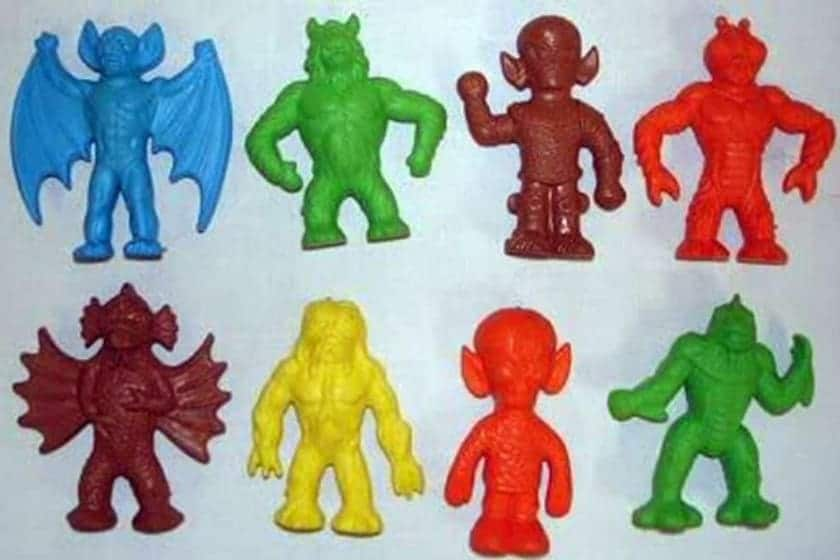 The most expensive Happy Meal toys - Underwater monsters (1979)