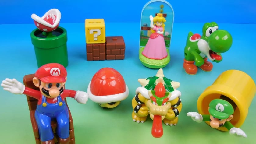 The most expensive Happy Meal toys - Mario (1994 and 1998)