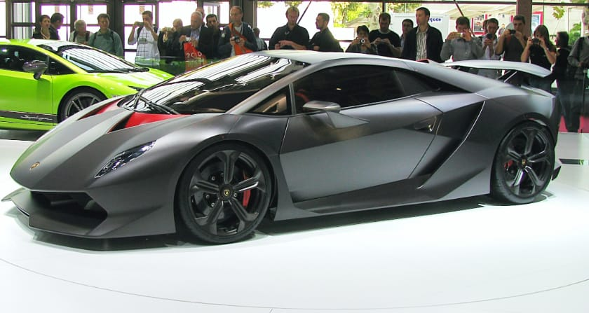 The most expensive Lamborghinis - Sesto Elemento Concept