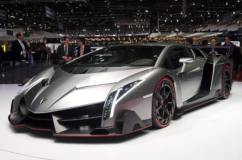 The most expensive Lamborghinis - Veneno