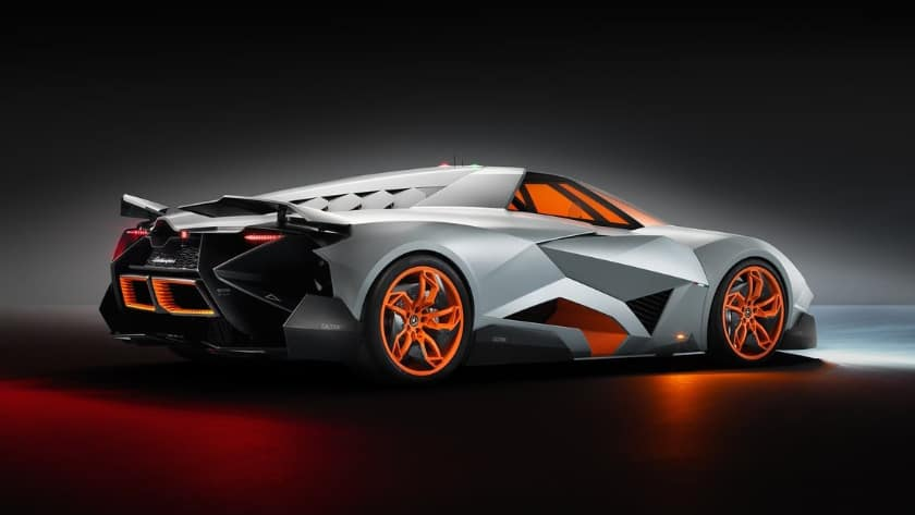 The most expensive Lamborghinis - Egoista Concept