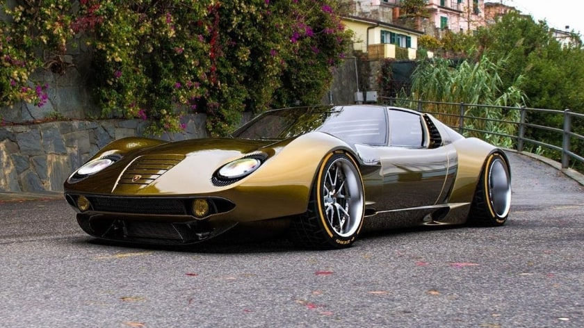 The most expensive Lamborghinis - Miura Concept
